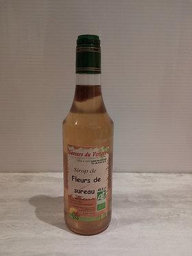 Sirop de Fleurs de sureau 49.8 cl