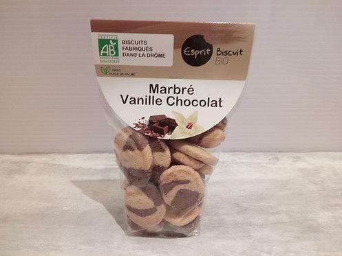 Biscuits .. Marbré vanille chocolat Bio 200g