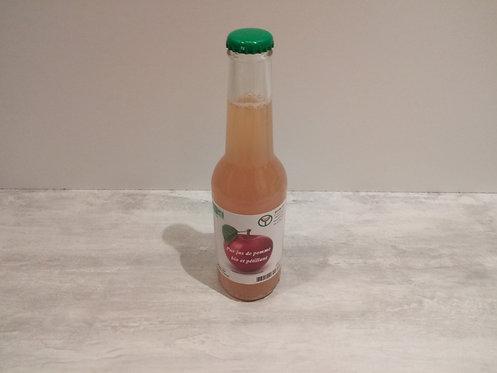 Jus de Pomme Bio pétillant 25cl