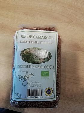 riz rouge Camargue bio en vrac