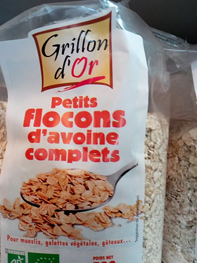flocons d avoine bio 500 g