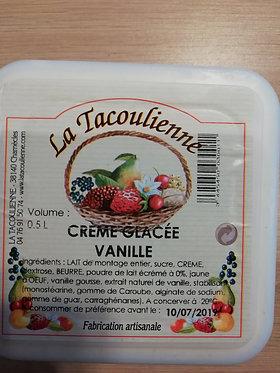 glace vanille 500 ml