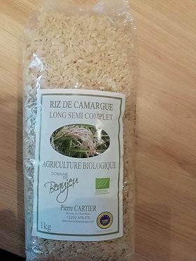 riz long de Camargue 1KG bio en vrac