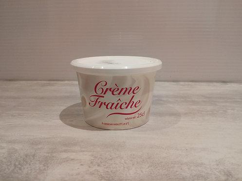 Crème fraiche fermière crue BIO 25 cl