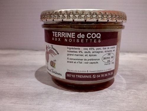 Terrine de Coq aux noisettes 190g