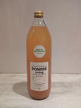 Jus de Pomme Coing Bio Ferme Margerie 1 L