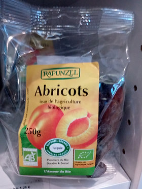 abricots secs 250 g bio