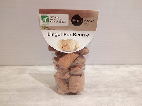 Biscuits .. Lingot pur beurre Bio 200g
