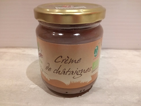 Crème de châtaignes Bio 240g