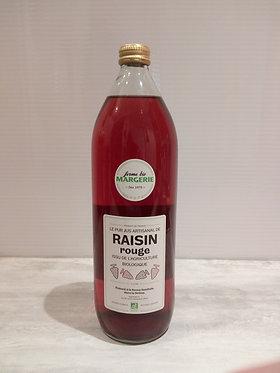 Jus de Raisin rouge Bio Ferme Margerie 1 L