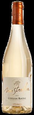 """VIN la Suzienne Côtes du Rhône """"Mistralou"""" Blanc  75 cl"""