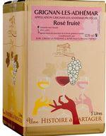 VIN la Suzienne Bag-in-Box Grignan-les-Adhémar Rosé  5 L