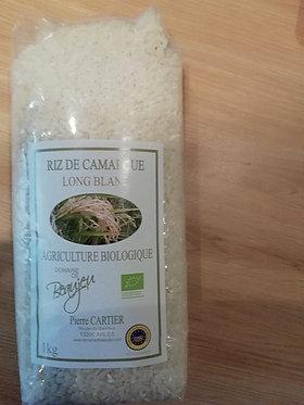 riz blanc de Camargue 1KG bio en vrac