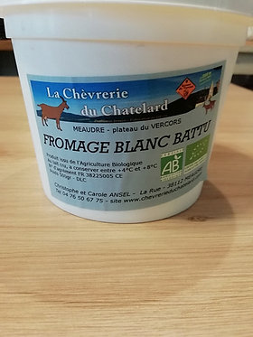 pot de yaourts  de chèvre bio 500 g