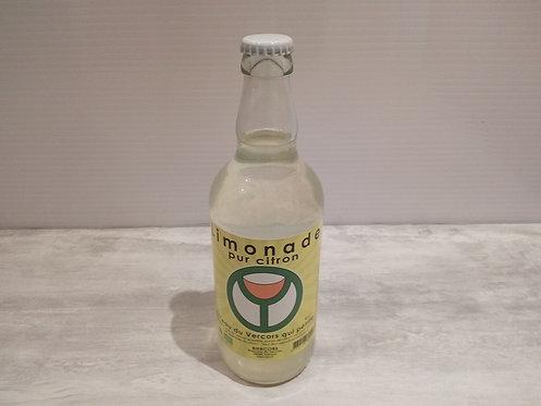 Limonade Bio Pur Citron de la Brasserie du Vercors 50 cl
