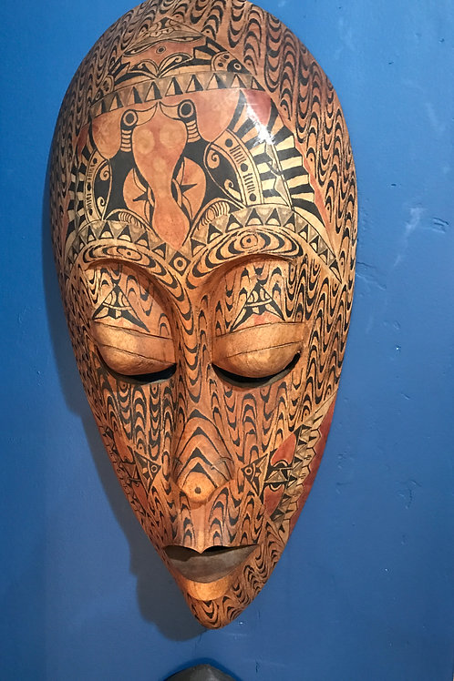 Tribal African mask