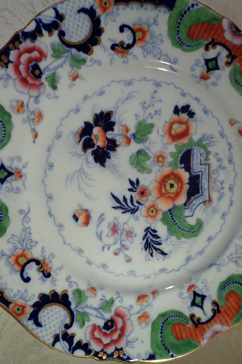 Hand painted vintage plate as marked