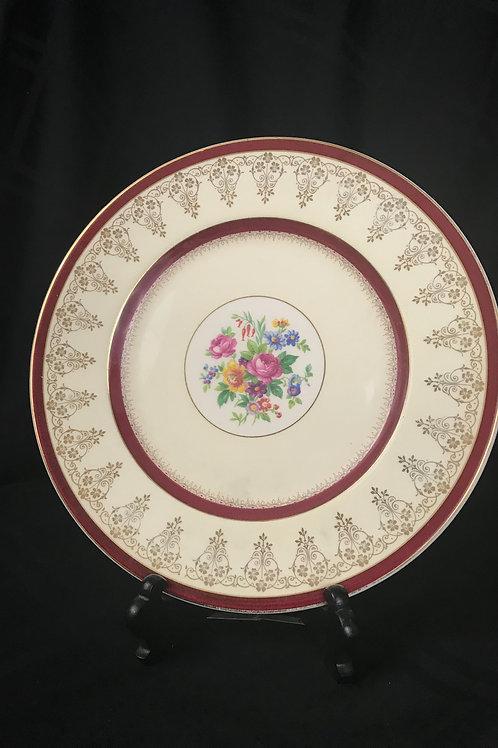Set of 11 Myott Staffordshire Plates