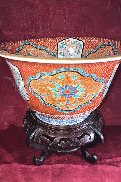 Large Vintage Asian Bowl