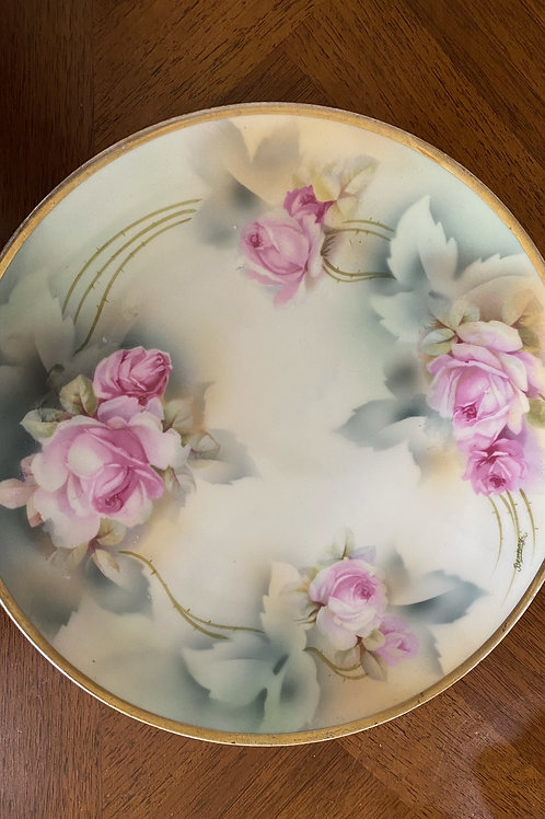 PRUSSIA HANDPAINTED PLATE