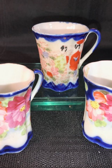 SET-3 ASST. NIPPON TEA CUPS