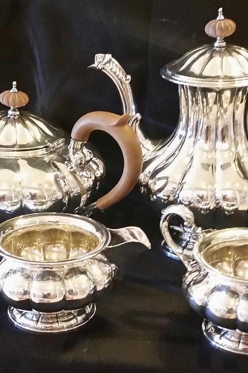Birk & Sons sterling silver 4pc. Set