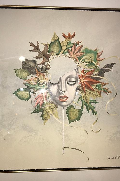 """Mark van Epps - """"Mask of Fall"""" - Ltd E/Signed"""