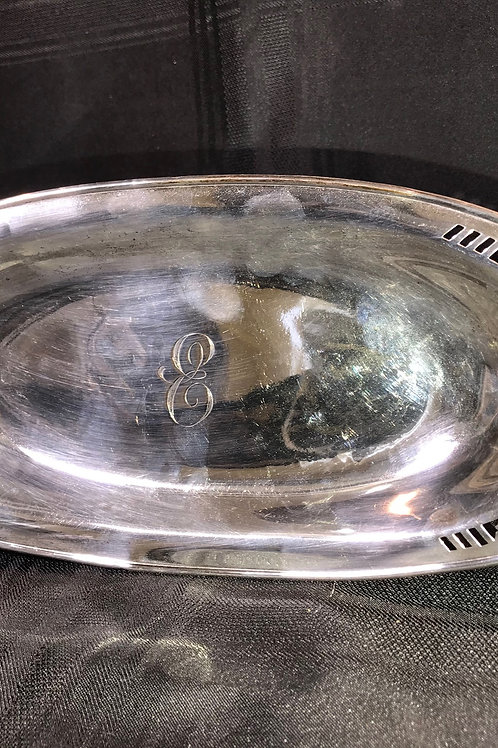 STERLING SERVING DISH