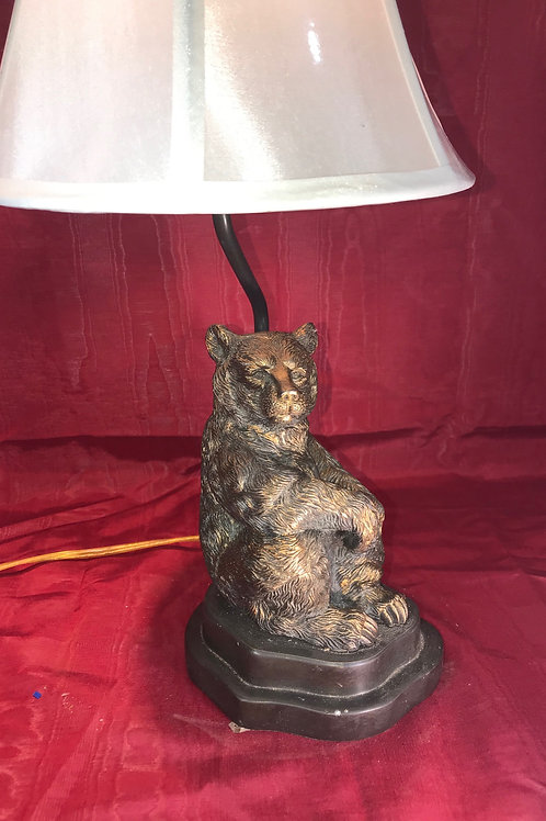 BRONZE BEAR LAMP