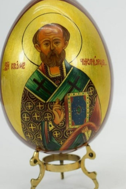 Hand Painted Russian Egg