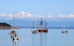 sailboat and baker