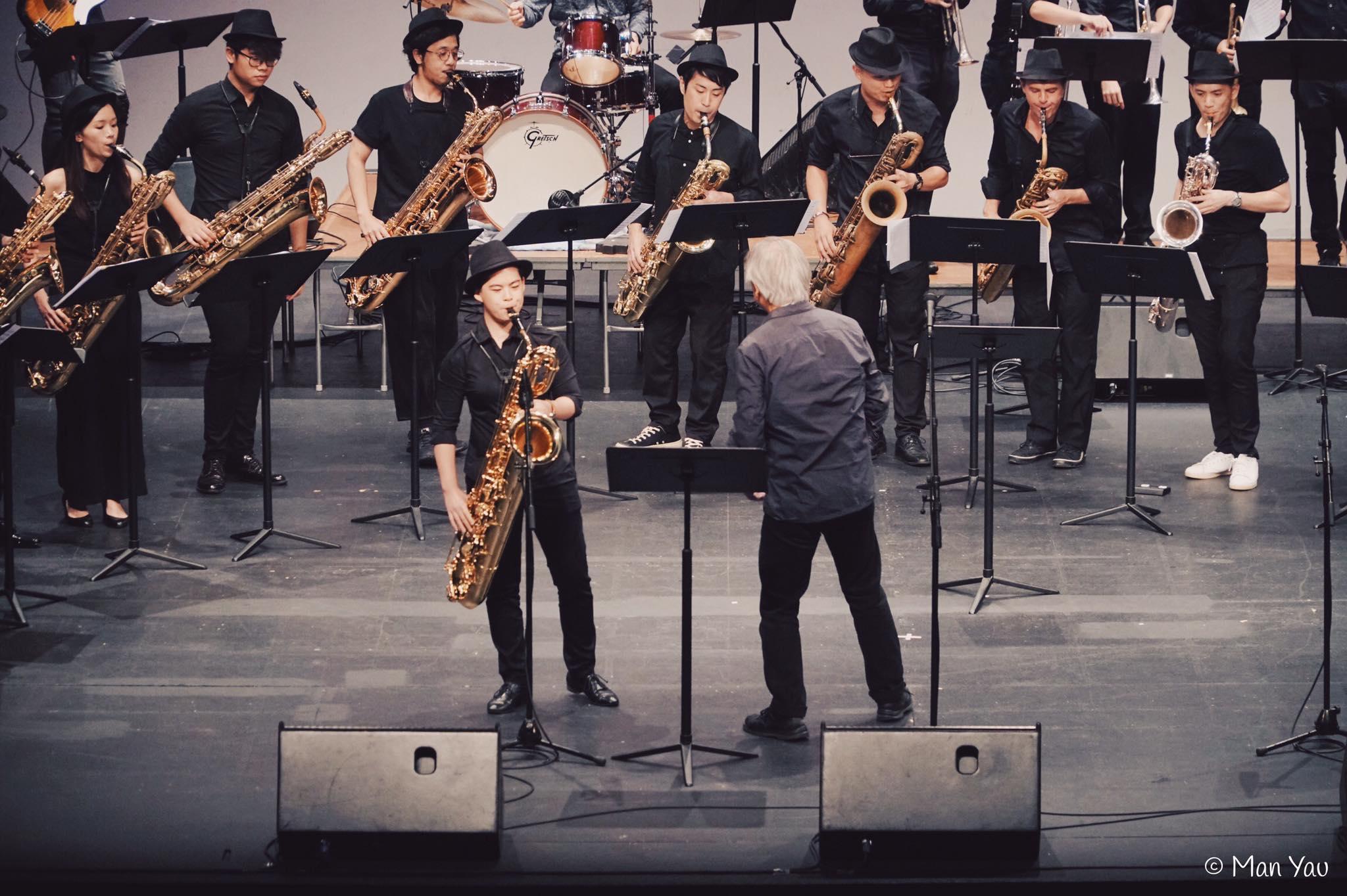 Solo Jazz Baritone Saxophone