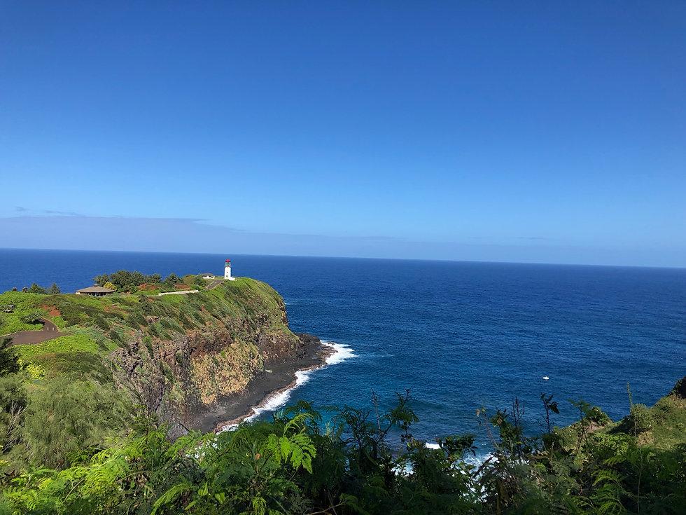 ハワイカウアイ島のキラウエア灯台