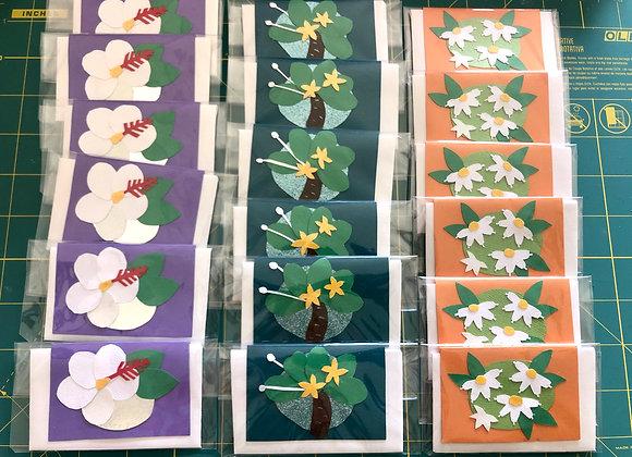 Flower ミニ・カード