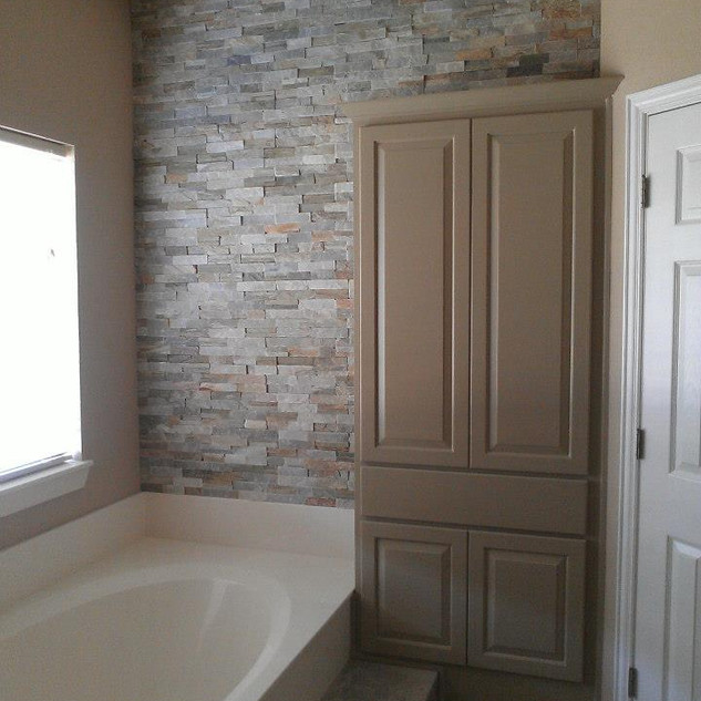 Bathroom Cabinets Remodel After Painting