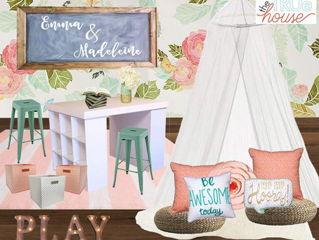 Anthro Inspired Playroom