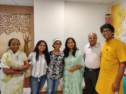 at Kharadi Yoga studio, Pune