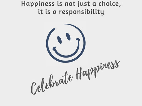 Finding Happiness : A social responsibility; not just an individual's choice