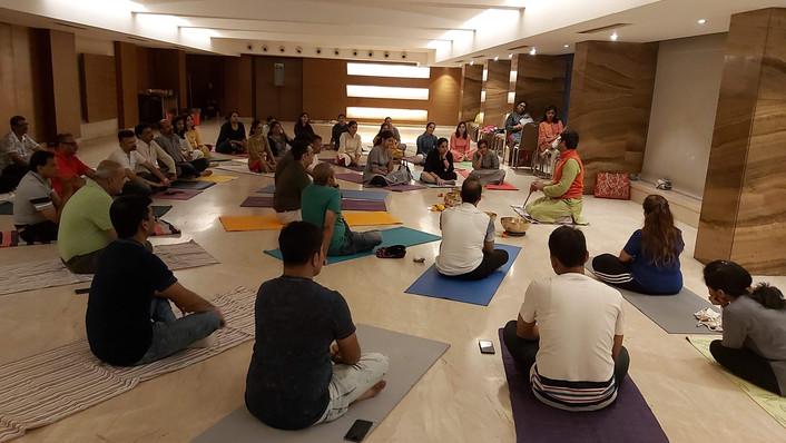 Sound Healing session @ Agrawal Club