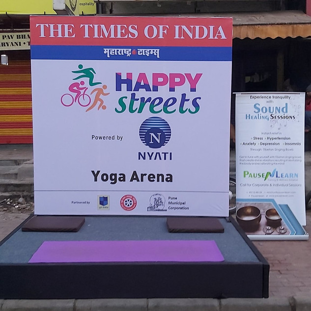 PnL partners for Happy Streets - aTOI initiative