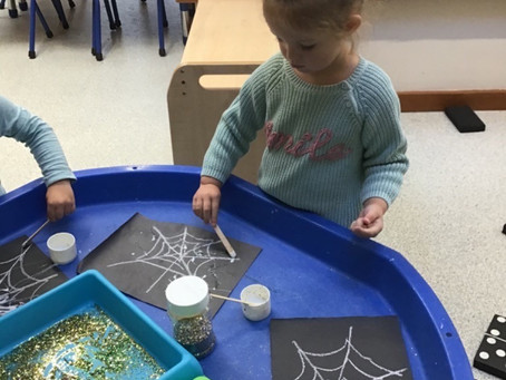 Spider week in Acorn class!