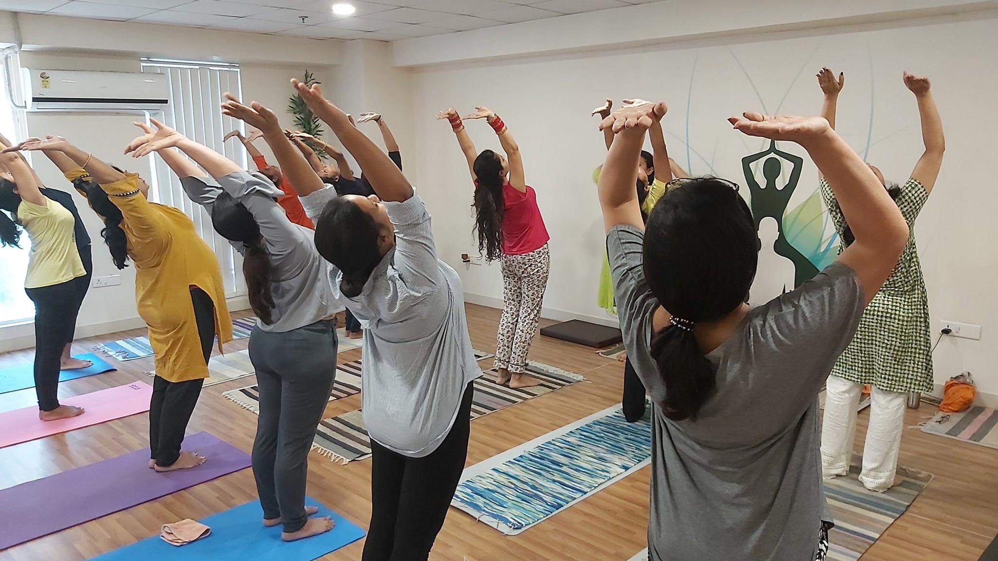 Yoga class @ Studio