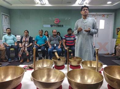 Corporate Workshop on Sound Healing