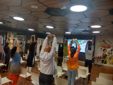 Corporate Yoga Workshop