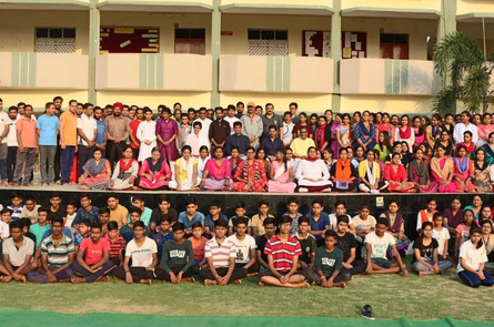Academic Excellence workshop at St. Xavier's School