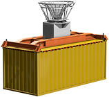 Offshore transfer of containers by means of the OB Cargo Lift