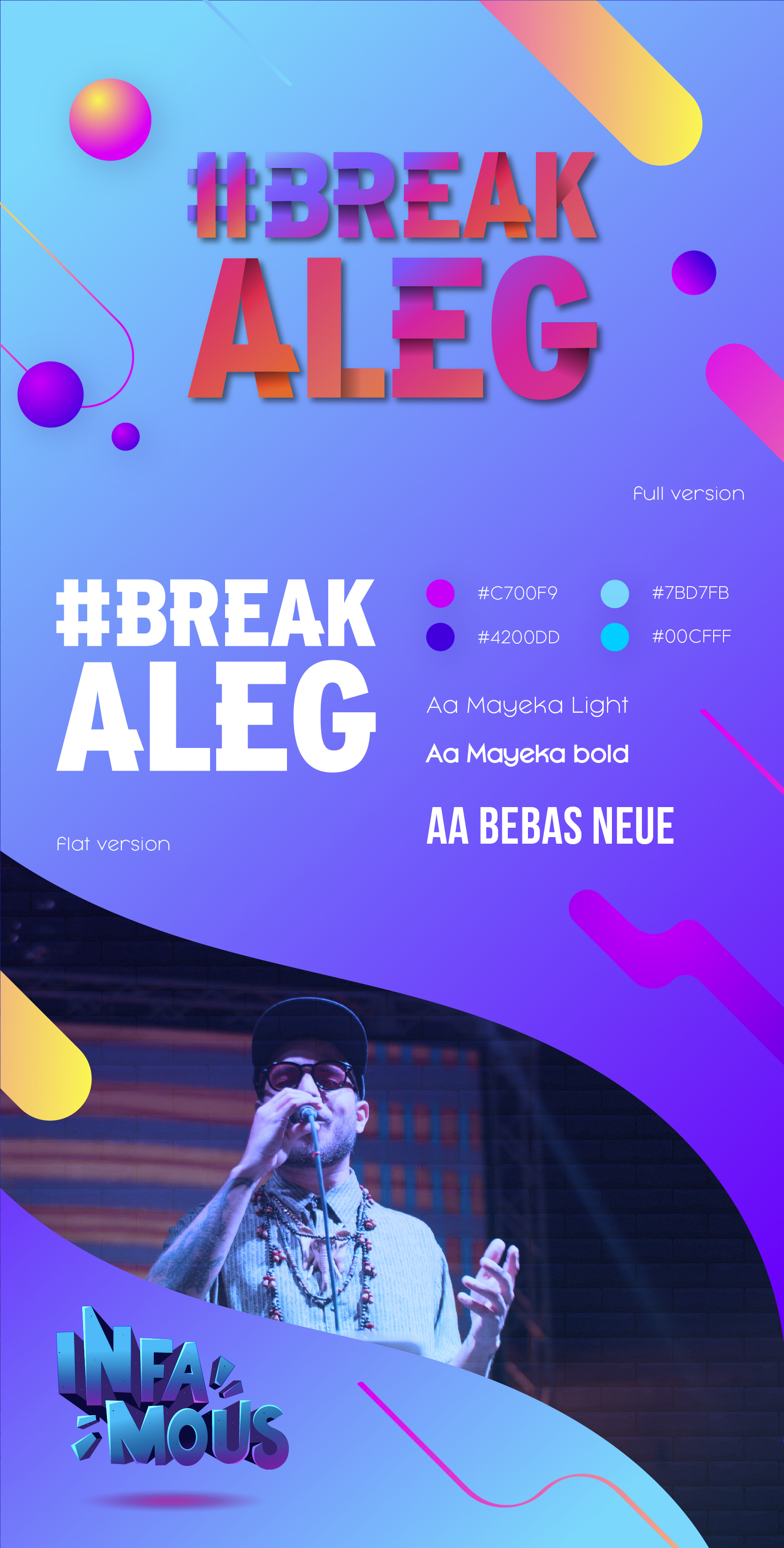 #BreakALeg/INFAMOUS