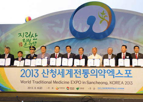 WORLD TRADITIONAL MEDICINE EXPO IN SANCHEONG, KOREA