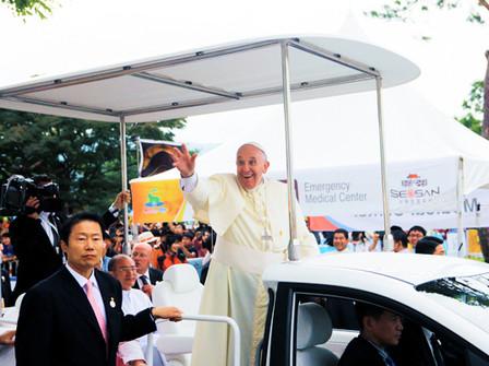 서산 교황 방문행사