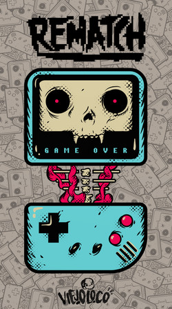 ViejoLoco.T-Shirt.Rematch.Gameboy.Color.